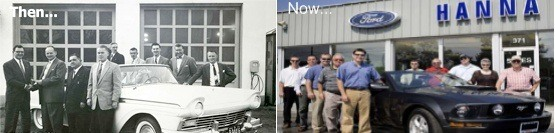 Then and Now - The tradition continues